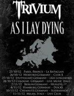 Trivium mit As I Lay Dying auf Tour
