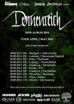 Dornenreich mit Tourdaten für 2014 (!!!)