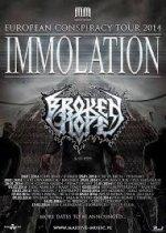 Immolation und Broken Hope im Package!
