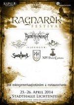 Ragnarök Festival 2014 - Running Order