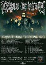 Cradle of Filth veröffentlichen Tourdaten