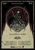 Demonical und October Tide auf Tour