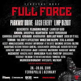 Full Force Line up 2019